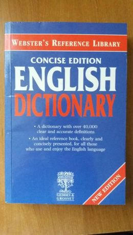 Concise Edition English Dictionary