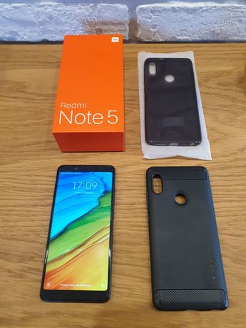 Xiaomi Redmi Note 5, 4/64, super stan, komplet, salon PL