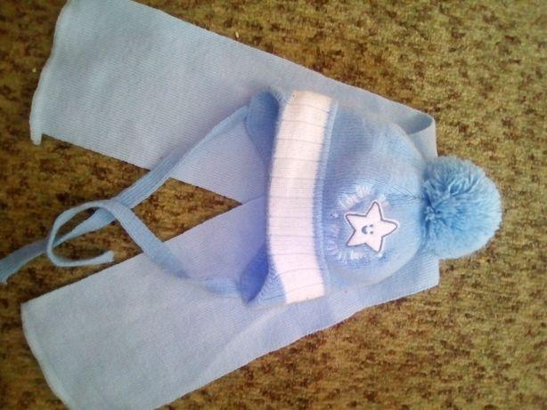 Нова шапочка+шарфик.