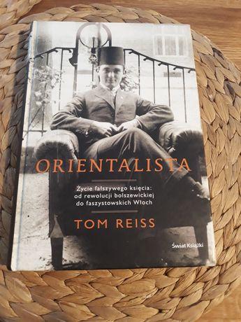 Orientalista Tom Reiss nowa twarda