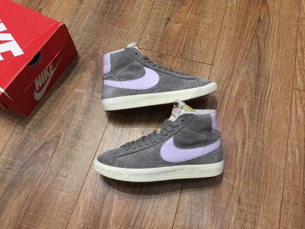Кроссовки женские хайтопы черевики Найк Nike (оригинал) р.37.5 (24см)