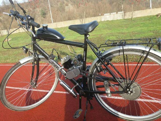 rower z silnikiem spalinowym 80cc