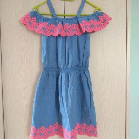 Sukienka dżinsowa