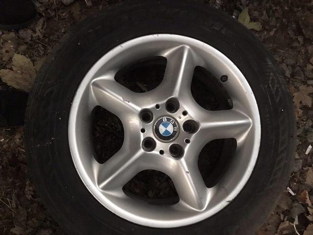 Диски BMW  5/120 r17  С резиной 235/60/17