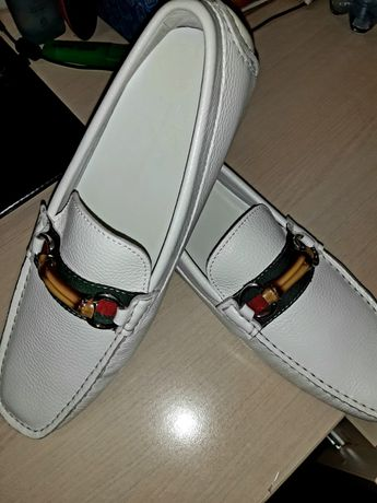 Туфли-макасины мужские
