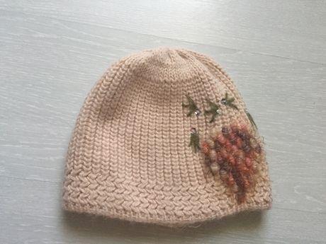 Тёплая шапка зима на объём головы 54 Дешего!