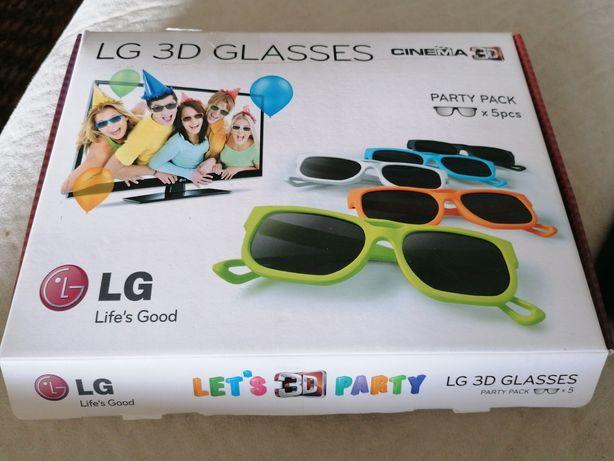 Led 3d óculos LG