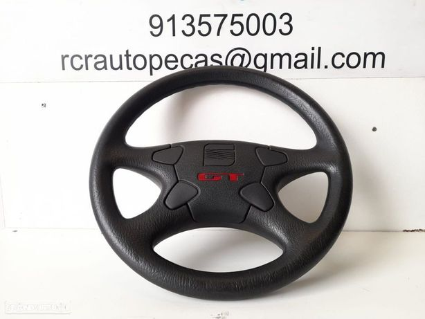 VOLANTE ORIGINAL GENUINO COM AIRBAG | SEAT IBIZA GT / GT TDI 6K;