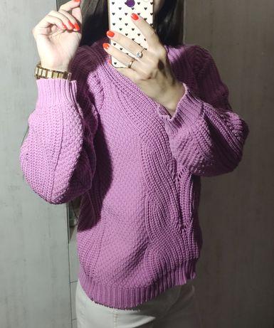 Красивый фиолетовый лавандовый свитер vero moda