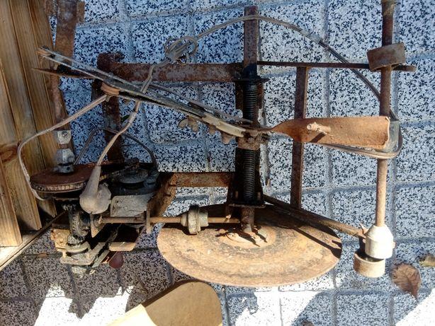 Máquina antiga de carregar