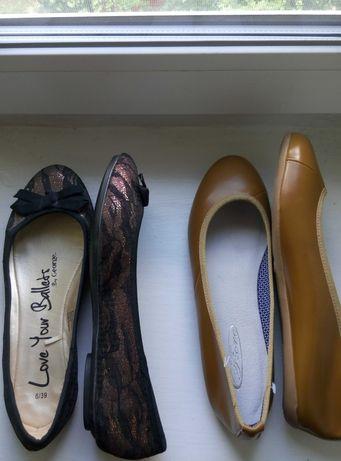 летние балетки..лодочки..туфельки 39-40 размера по стельке 25.5-26см.