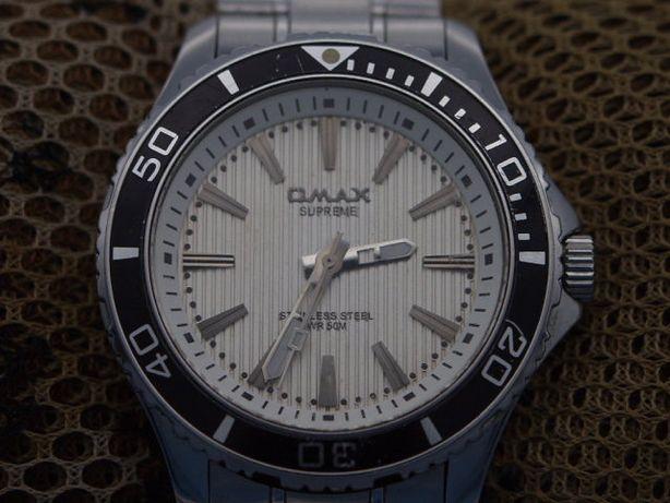 zegarek OMAX ładny stalowy duży