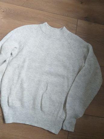 Sweterek sweter półgolf h&m