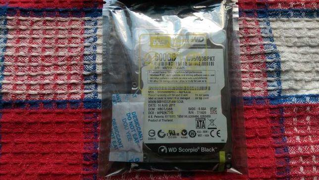 Western Digital WD5000BPKT 500GB Scorpio Black жорсткий диск в ноутбук