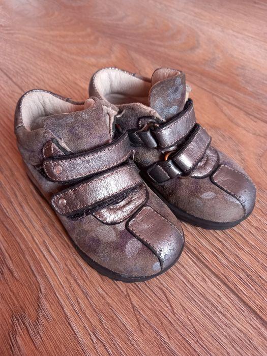 Итальянские ботиночки кожа 20р. Чернигов - изображение 1