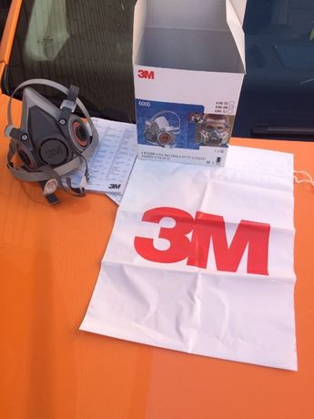 Маска 3M 6200 + Фильтра 3М 6051 (ОРИГИНАЛ)