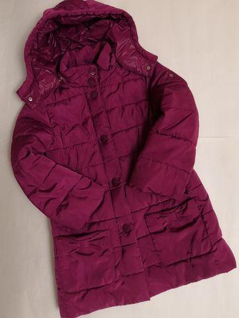 Брендовая красивая удлинённая курточка Primigi на 10 лет, рост 140 см.