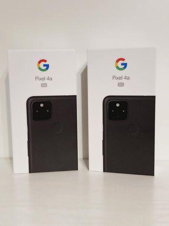 Google Pixel 4a 5G czarny 6/128 GB NOWY NIE OTWIERANY