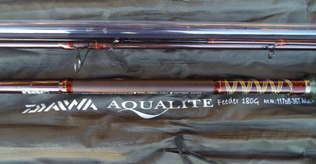 Фидер Daiwa Aqualite Heavy 3.6м 180г удилище в хорошем состоянии