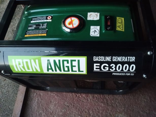 Продаю Генератор бензиновий б/у Iron Angel. В роботі не був.