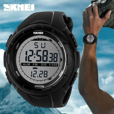 Легендарный Skmei 1025 - Dive - неубиваемые наручные спортивные часы