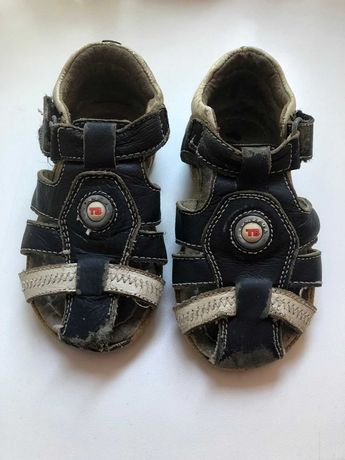 Кожанные детские сандали на мальчика Размер 22
