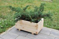 Donica drewniana ogrodowa, donice drewniane pod wymiar, doniczki