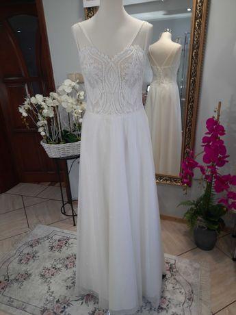 Nowa suknia ślubna w promocyjnej cenie