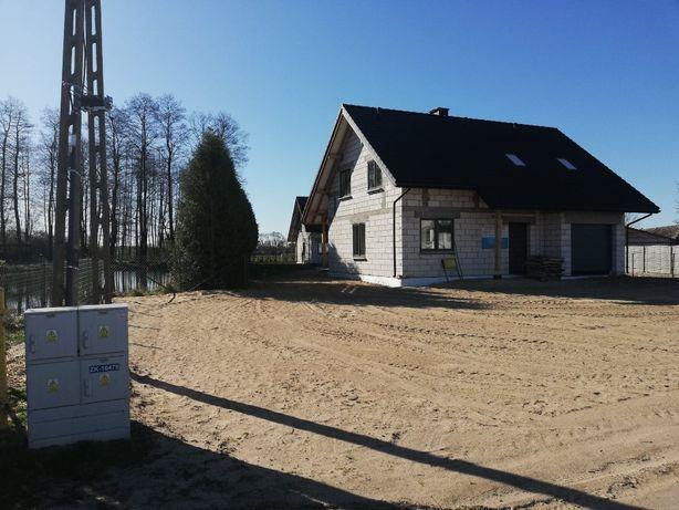Nowy dom. Borsukówka gmina Dobrzyniewo Duże
