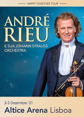 Vendo dois bilhetes para Andre Rieu