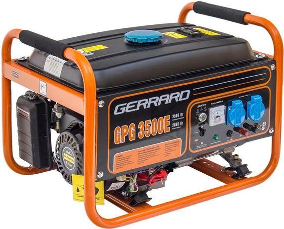 Генератор бензиновый Gerrard GPG 3500 100%медь 2 года гарантии