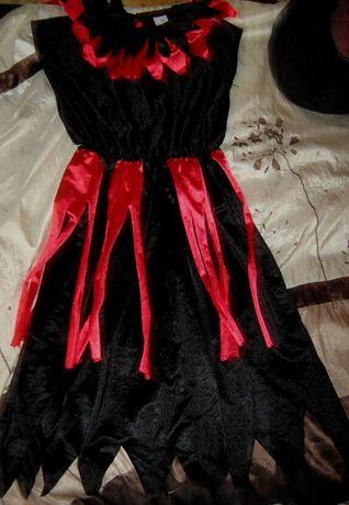 Карнавальное маскарадное платье Арлекин на 164 см рост Fries