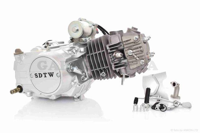Двигатель на мопед, мотор Дельта, Альфа 125 d-54 мм механика Аlpha