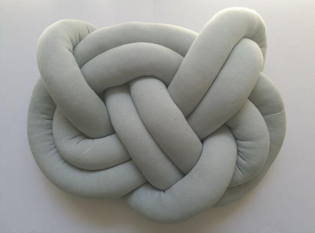 Poduszka supeł dekoracyjna - handmade