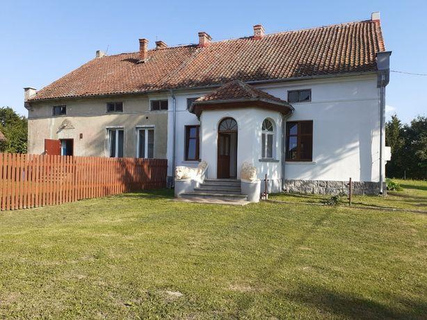 Dom z zabudowaniami gospodarczymi, siedlisko ranczo na Warmii 75arów