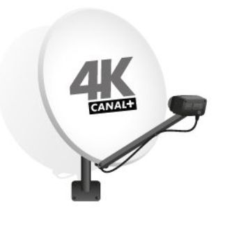 Antena satelitarna 4K 80 z konwerterem TWIN