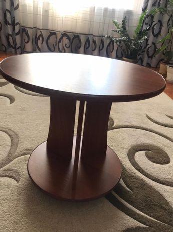 Журнальный стол столик круглый на колесах