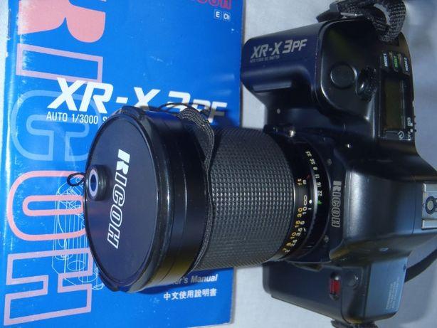 RICOH XRX-3PF + obiektywy + lampa + sporo akcesoriów