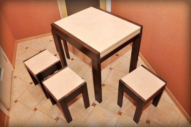 Кухонный стол раздвижной (слайдер) 60х80/160 см