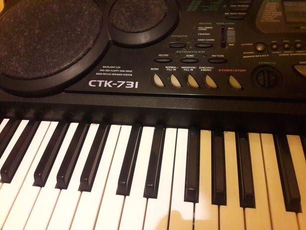 Organy keyboard casio ctk-731 klawisze