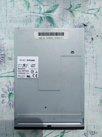Флоппи дисковод Sony MPF920 Floppy Disk Drive, FDD.  Дискеты 3,5.