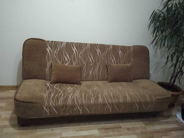 Łóżko rozkładane + 2 fotele - stan bardzo dobry