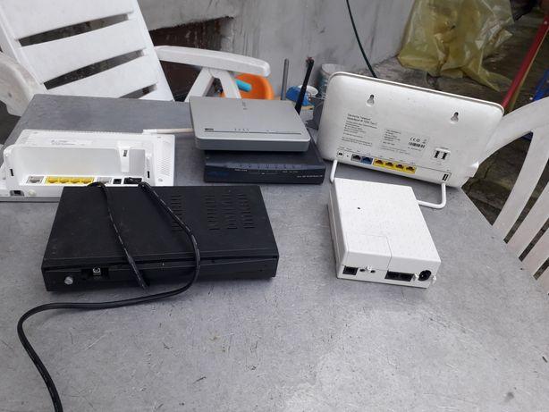 Routery i faxy zestaw