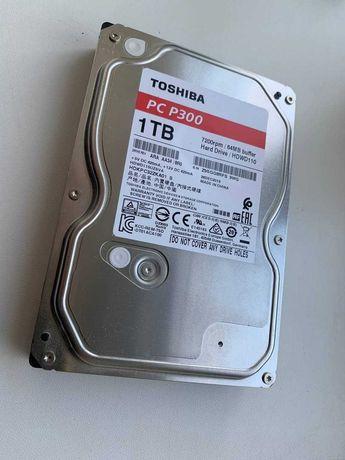 1tb hdd Toshiba p300 минимальный пробег