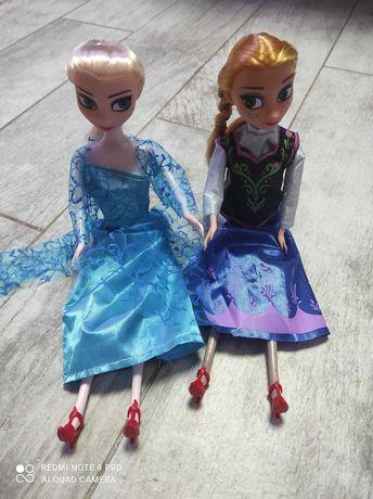 Lalki Elza i Anna Ala barbie
