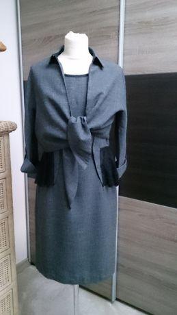 Sukienka z bolerkiem firmy Simple w rozmiarze 38