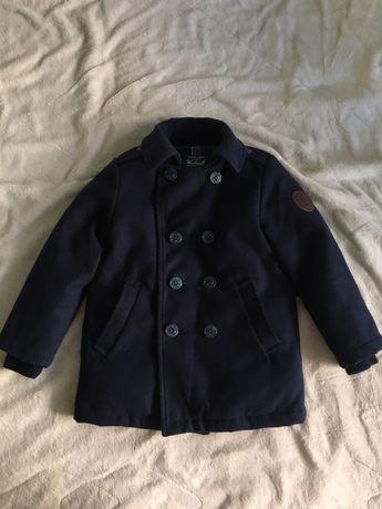 Пальто на мальчика (пуховое,кашемировое)