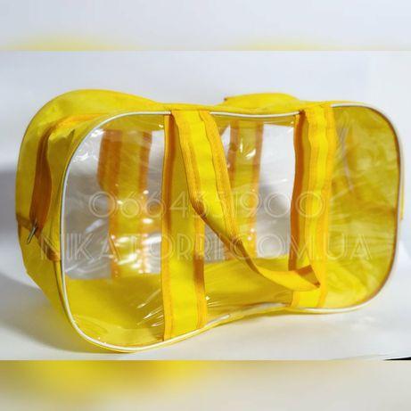 Большая сумка в роддом Nika Torri  в размере 65×35×30