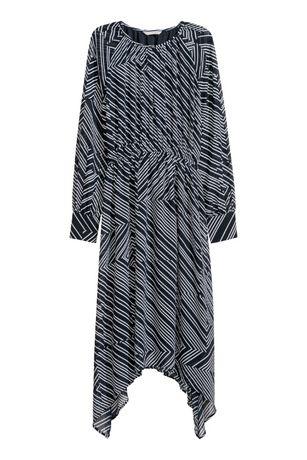 Sukienka H&M asymetryczna zwiewna koktajlowa M 38 zara bershka