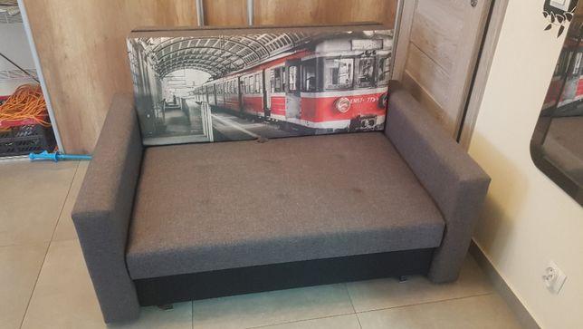 Kanapa Sofa rozkładana z funkcją spania Smart II FOTO stan bdb